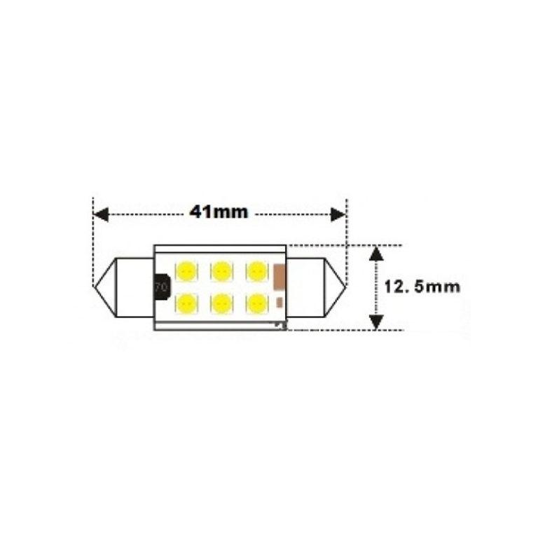 12v-24v-Festoon-41mm-6x3030SMD-LED-WHITE-260lm-led-shop-online-1