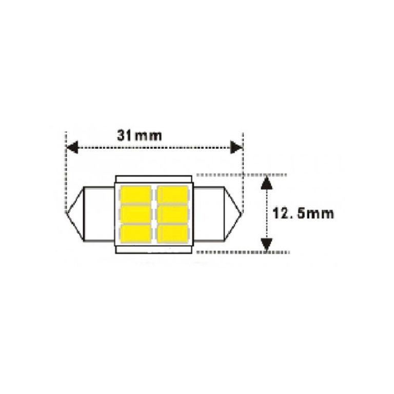 12v-Festoon-31mm-6x5730-LED-Canbus-WHITE-led-shop-online-1