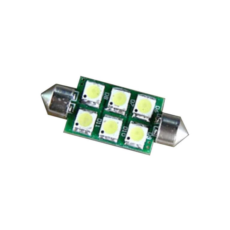12v-Festoon-41mm-6x-LED-GREEN-led-shop-online