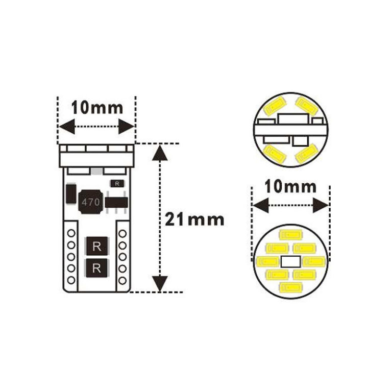12v-T10-194-WHITE-LED-wedge-bulb-120-led-shop-online-1