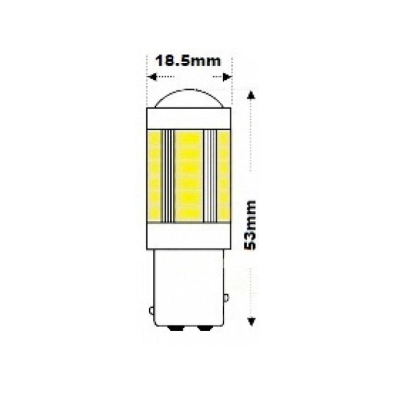 24v-Hi-Power-BAY15D-RED-LED-Brake-Tail-bulb-led-shop-online-1